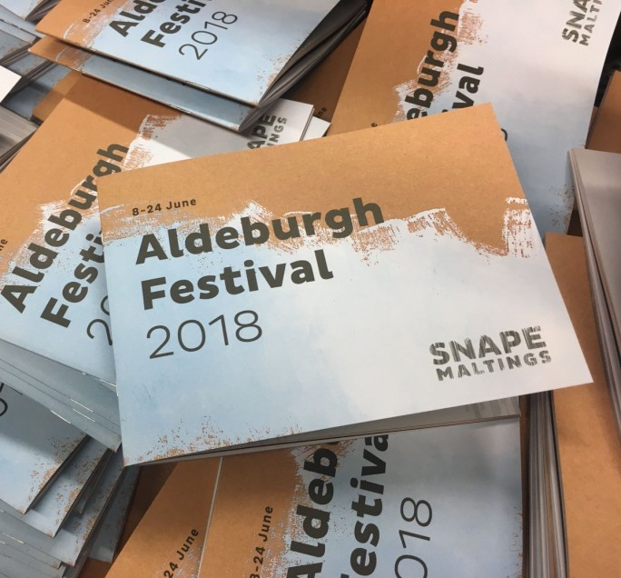 Aldeburgh Festival - 8 - 24 June 2018 Film and music festival