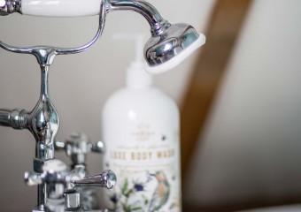Bath time luxury, nothing quite like relaxing in a beautiful enamel slipper bath