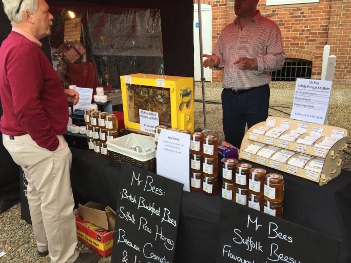 Honey Man Snape Maltings Suffolk - Farmers Market
