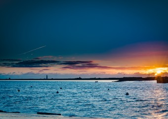 Orford Quay at Sunset taken by Glyn Collins