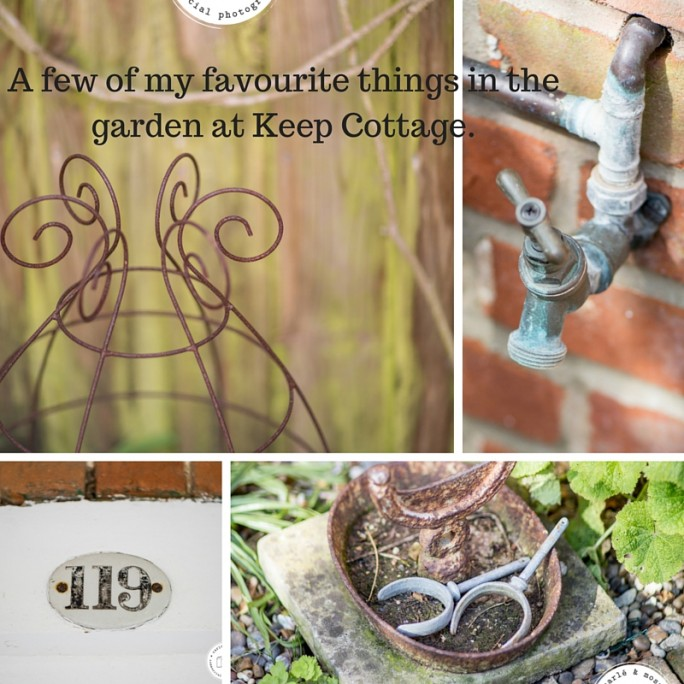 some lovely features from the garden at Keep Cottage