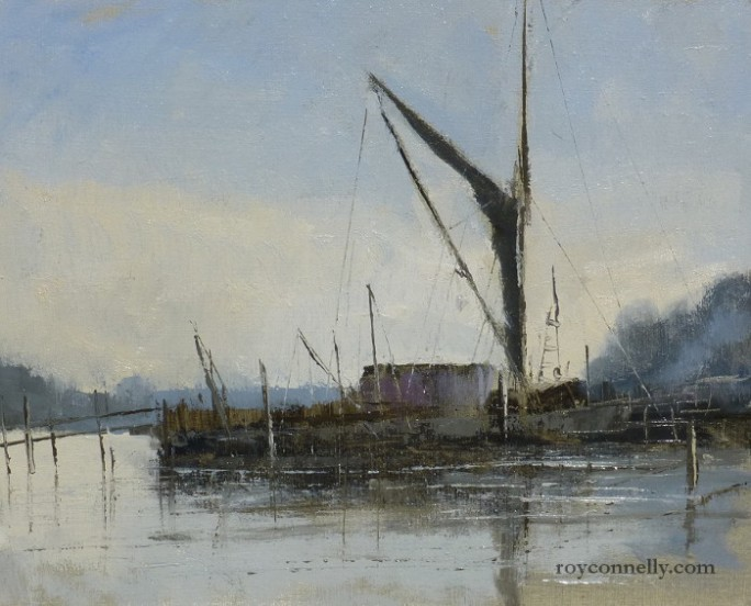 Pin Mill by Roy Connelly for Keep Cottage