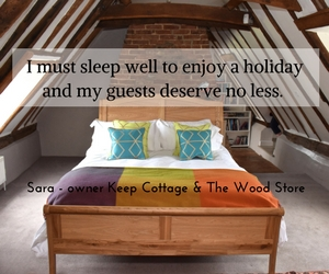 what we do to help our guests get a good nights sleep on holiday