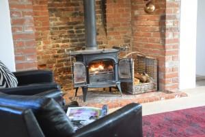 Log burner Keep Cottage