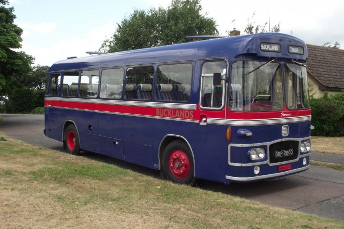 Vintage bus in Aldeburgh runs Wed and Sunday