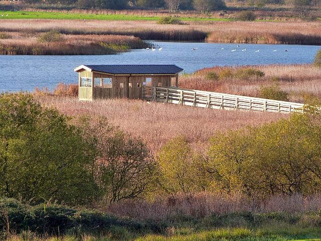 minsmere bird hide constructed in 2011 its fit for purpose!