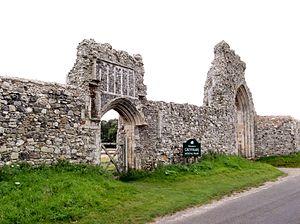 Dunwich Greyfriars gateway