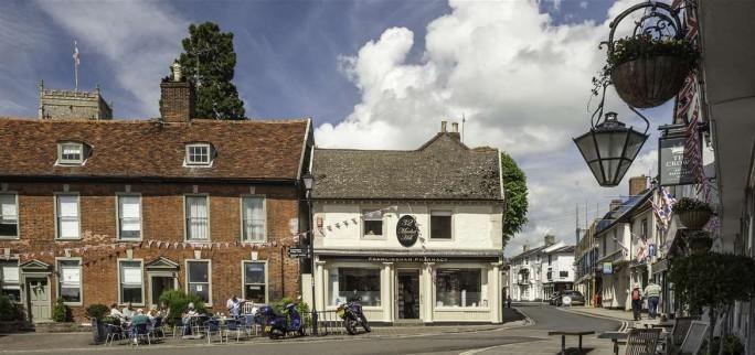 Framlingham town centre