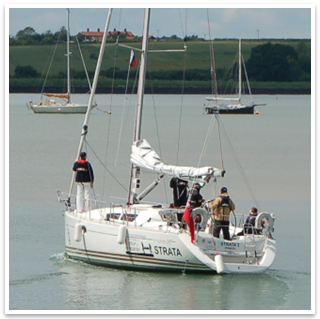 Sailing with East Anglia Sailing Club